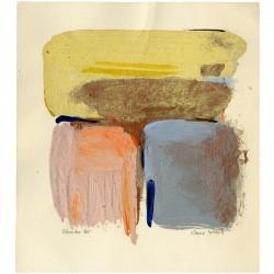 Peinture à l'huile de Klairy Korelis, 1985