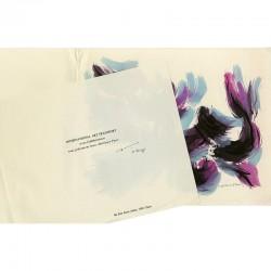 Lithographie en 3 couleurs de Luichy Martinez pour une carte de vœux