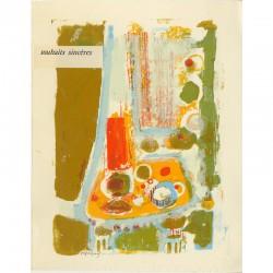 Lithographie de Frédéric Menguy