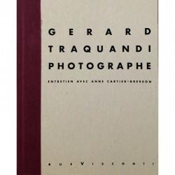"""Couverture du livre """"Gérard Traquandi. Photographe"""""""