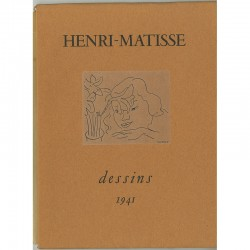 "Catalogue Henri Matisse ""Dessins"" de la galerie Louis Carré, 1941"