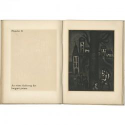 """'Le miserere"""", planches gravées de Georges Rouault, exposées chez Louis Carré en 1952"""
