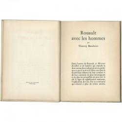"""Préface """"Rouault avec les hommes"""" de Thierry Maulnier"""