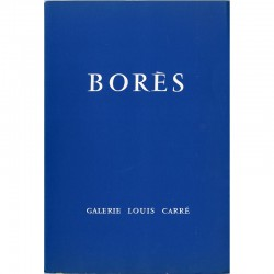 Catalogue de l'exposition de Francisco Borès à la galerie Louis Carré
