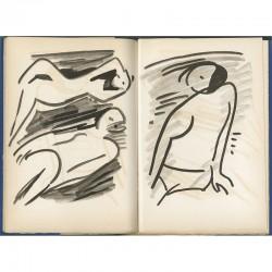 Reproductions de peintures de Francisco Borès imprimées par Mourlot