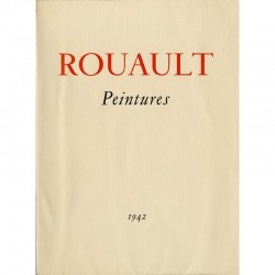 "Catalogue Georges Rouault ""Peintures"" galerie Louis Carré, 1942"