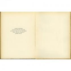 Colophon du catalogue de la galerie Louis Carré, 1945 sur Bazaine, Estève et Lapicque