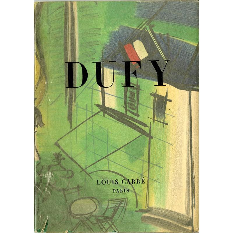 """Catalogue publié à l'occasion de l'exposition """"Dufy"""" à la galerie Louis Carré"""