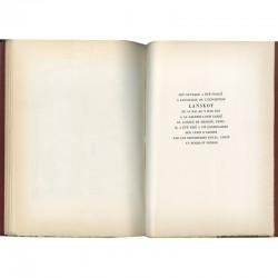 Colophon du catalogue de la galerie Louis Carré consacré à André Lanskoy
