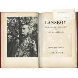 Page de titre du catalogue Lanskoy, galerie Louis Carré