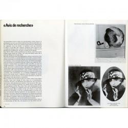 Double page de photographies de Man Ray et Marcel Duchamp, dans le livre de Jean Clair