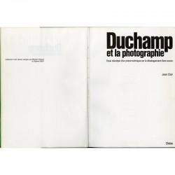 """page de titre du livre de Jean Clair """"Duchamp et la photographie"""""""