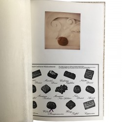 """Une page de """"Such-Art bonbons"""", livre d'artiste de Thomas Reinhold"""
