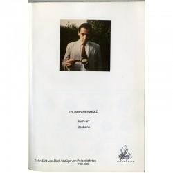 page de titre du livre d'artiste de Thomas Reinhold à partir de Polaroids