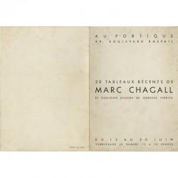 Vernissage de l'exposition Chagall, organisée par Marcelle Berr de Turique