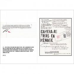 """Correspondance illustrée entre Lawrence Weiner et  Luc Vezin, pour le livre d'artiste """"Trois petits canards, une eau de vie"""""""