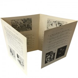 Dépliant 4 volets de l'exposition Chagall, Galerie Gérald Cramer, 1958
