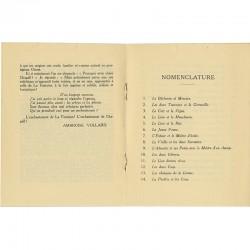 Texte d'Ambroise Vollard pour le catalogue de l'exposition Marc Chagall à la Galerie Bernheim-Jeune