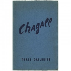 Catalogue de l'exposition Marc Chagall, Perls Galleries, New York 1965