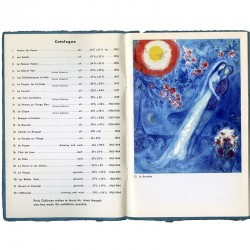 liste des peintures de Marc Chagall exposées à  Perls Galleries, New York 1965
