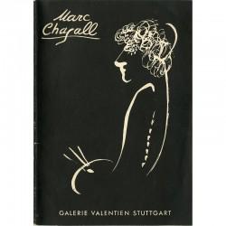 Marc Chagall, Galerie Valentien, Stuttgart 1958