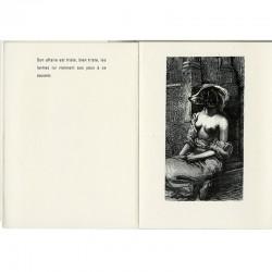 """l'un des collages de Cozette de Charmoy, pour son livre """"La femme et ses bêtes"""""""