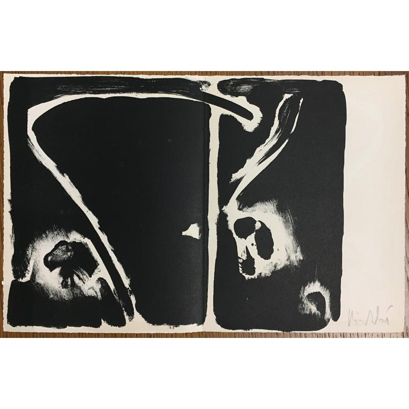 lithographie originale signée par Olivier Debré