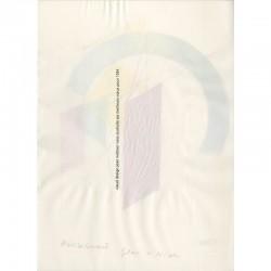 Vœux de l'agence Visuel Design de Jean Widmer, adressés à  Raoul Jean Moulin pour l'année 1994