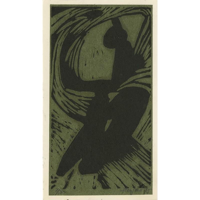 Gravure originale de Paul Foujino, signée et numérotée