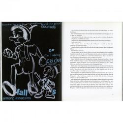 Une des illustrations de Jim Dine pour Pinocchio, édité par Steidl