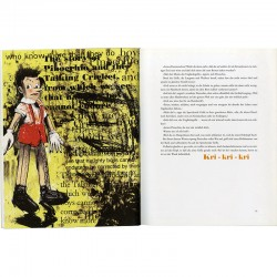 """Intérieur du livre """"Pinocchio"""" illustré par Jim Dine"""