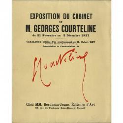 Catalogue de l'Exposition du Cabinet des peintures de Georges Courteline, 1927