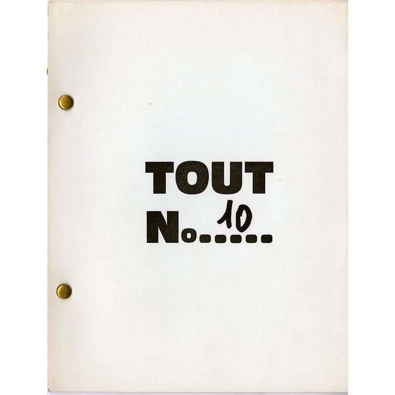 N°10 de la revue auto-éditée par Ben à Nice en 1967