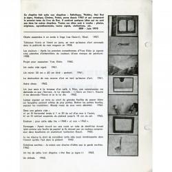 """""""Quelques idées"""" revue/livre d'artiste auto-éditée par Ben , 1970"""