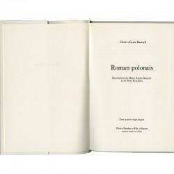 Roman polonais, Piotr Kowalski et Henri-Alexis Baatsch, édition sur Vélin d'Arches