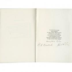 colophon du livre Roman polonais d'Henri-Alexis Baatsch