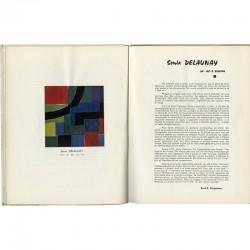 Article sur Sonia Delaunay dans la revue Art-Témoin, 1961