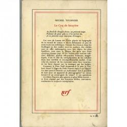 4e de couverture du livre de Michel Tournier, Le coq de bruyère, en service de presse