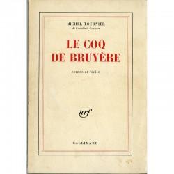 Michel Tournier, Le coq de bruyère, édition originale, SP, 1978