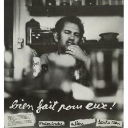 verso de la plaquette consacrée à Ben, éditée par la revue Canal 1983