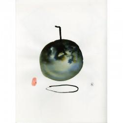 aquarelle originale de Joël Kermarrec  sur demi-carton aquarelle Arches grain satiné 300 g