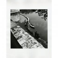 Tirage argentique de Louis Stettner, La Seine, Paris