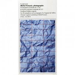 découpage de l'affiche de Michel François en 30 fragments