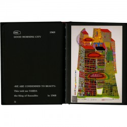 "double page du livre ""Hundertwasser's complete graphic work"""