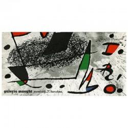 Joan Miró, Un cami compartit, Maeght, Barcelone, 1975