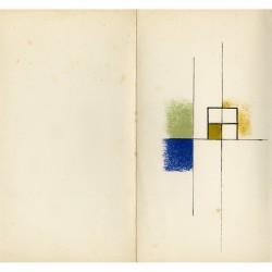 Mansouroff, Carte de voeux de la Galerie Daniel Gervis, 1967