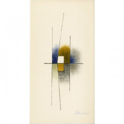 lithographies de Paul Mansouroff, signée, tirées sur Vélin d'Arches