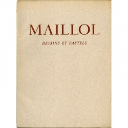 "Catalogue de l'exposition ""Maillol"" à la galerie Louis Carré"