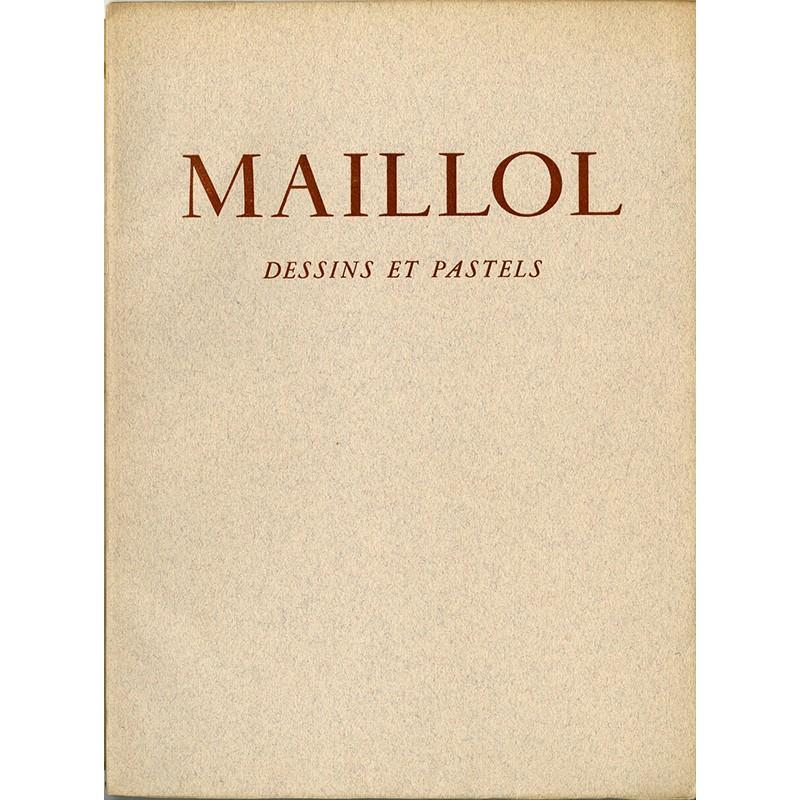 """Catalogue de l'exposition """"Maillol"""" à la galerie Louis Carré"""