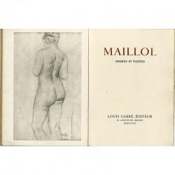 Aristide Maillol, catalogue de l'exposition à la galerie Louis Carré, 1941